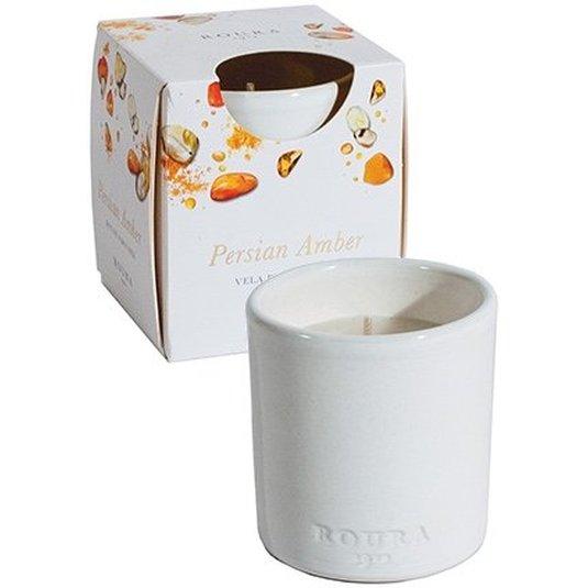 roura vela vaso ceramica perfume persian amber