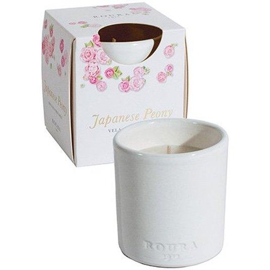 roura vela vaso cerámica perfume japanese peony