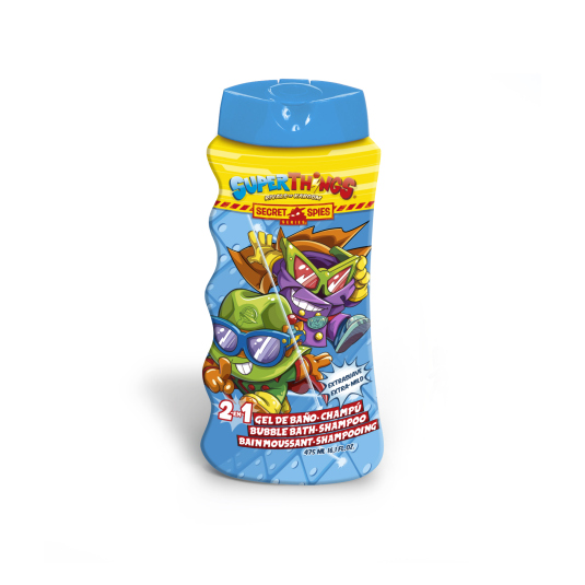 superzings secret spies gel & champu infantil 475ml