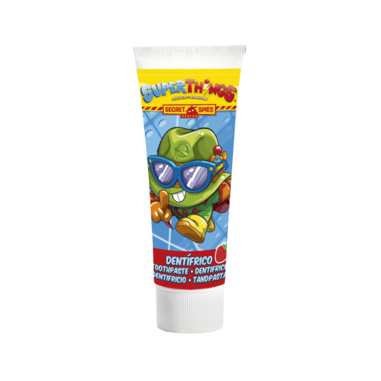 superzings secret spies pasta dental infantil 75ml