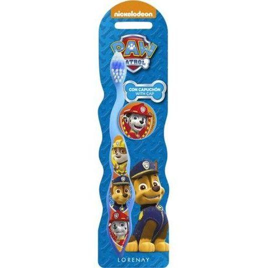 patrulla canina cepillo de dientes infantil con capuchón