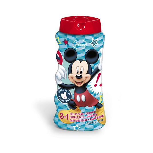 mickey gel & champú 475ml