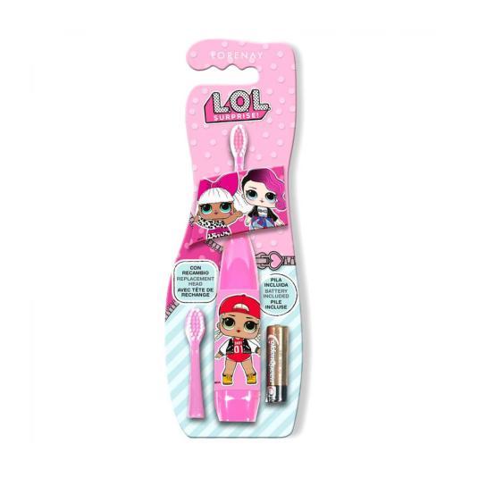lorenay lol surprise cepillo dientes eléctrico para niños