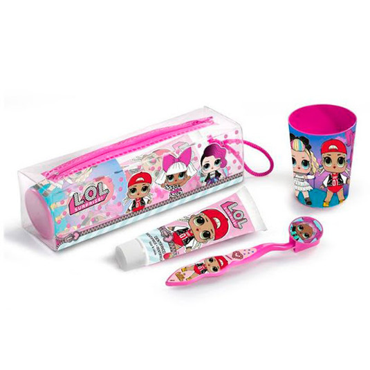 lol surprise kit dental infantil viaje