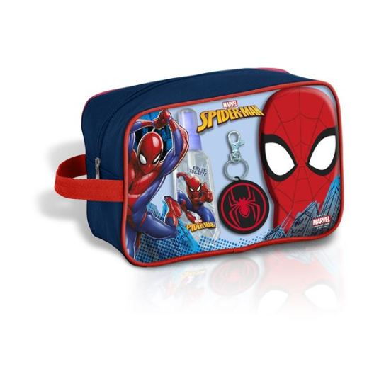 spiderman set colonia 90ml neceser