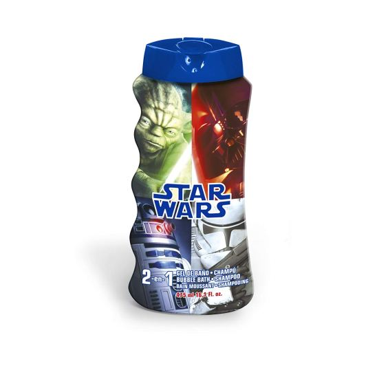 star wars 2en1 gel y champú champu 475 ml