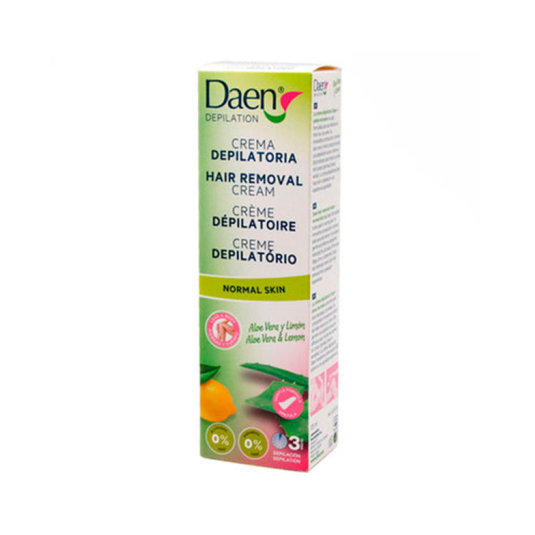daen crema depilatoria aloe vera y limon piel nornal 125ml