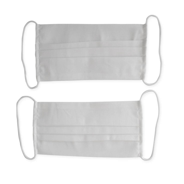 mascarillas higienicas reutilizables algodon 2 unidades en blister