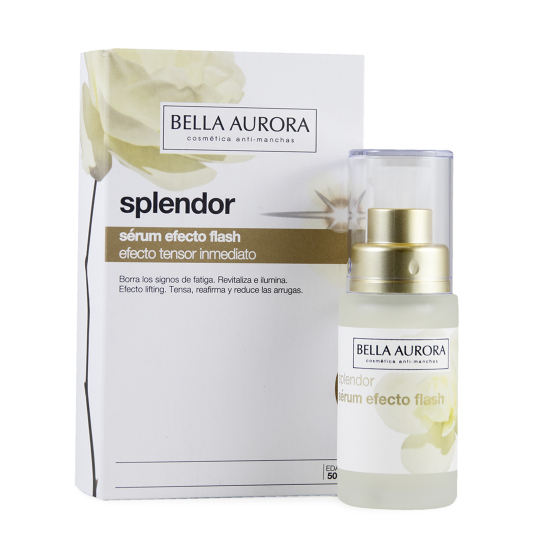 bella aurora splendor serum efecto flash 30ml