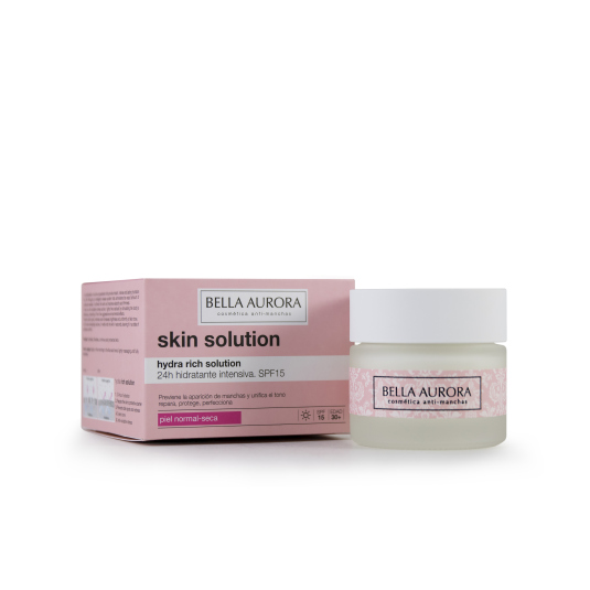BELLA AURORA HYDRA RICH SOLUTION CREMA HIDRATANTE INTENSIVA SPF15 50ML