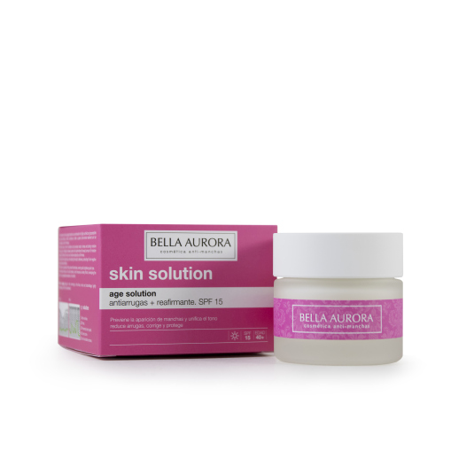 BELLA AURORA AGE SOLUTION CREMA ANTIARRUGAS SPF15 50ML