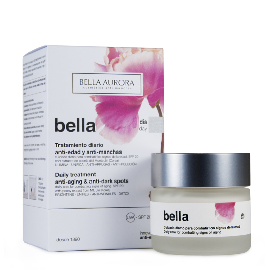 bella aurora crema de día antimanchas spf20 50ml