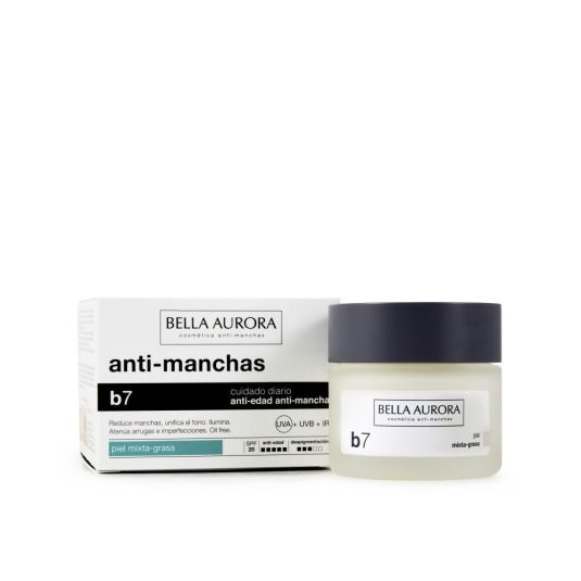 bella aurora b7 crema antimanchas piel mixta spf20 50ml