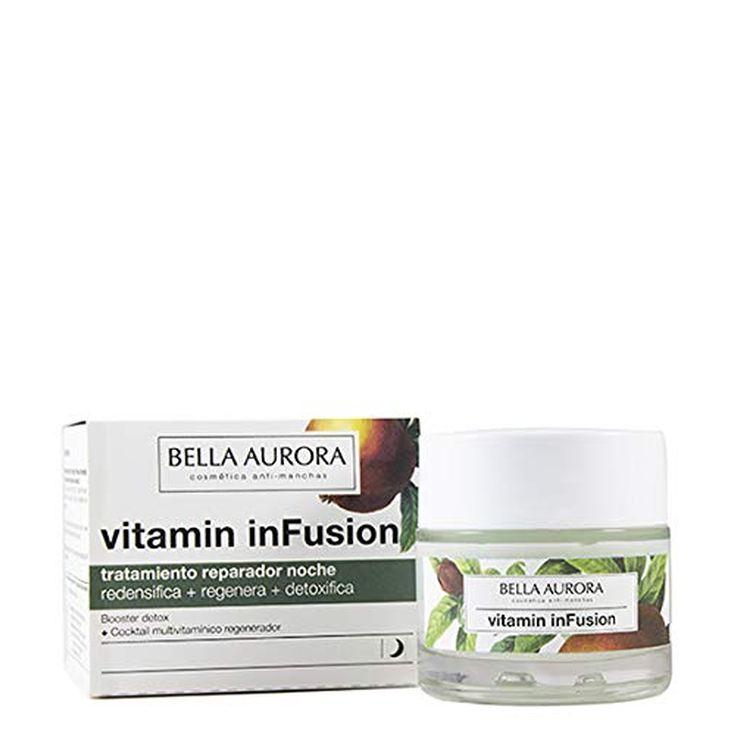 bella aurora vitamin infusion trattamiento multivitaminico reparador noche