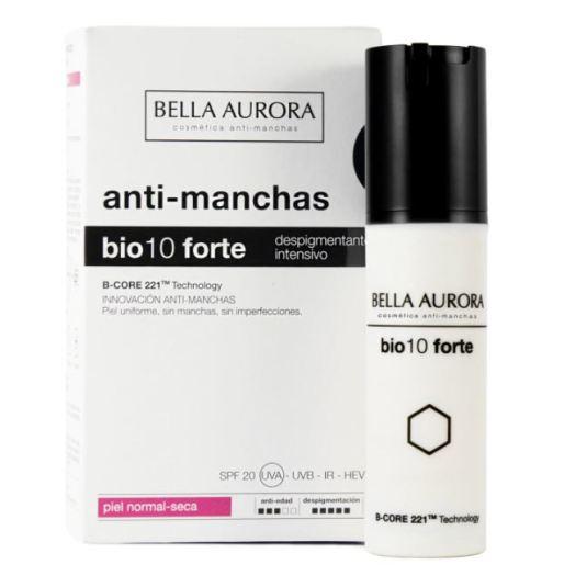 bella aurora bio10 forte tratamiento despigmentante intensivo piel normal 30ml