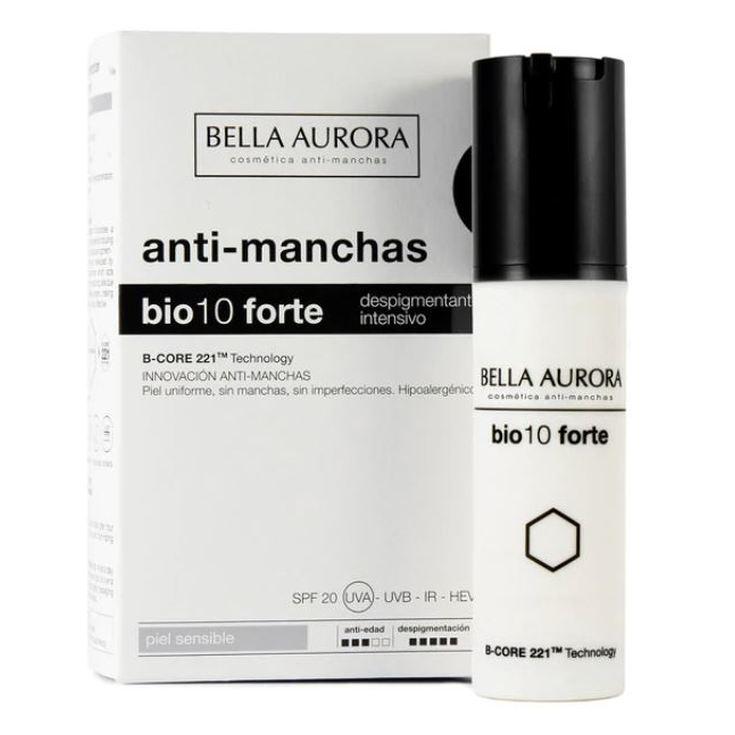 bella aurora bio10 forte tratamiento despigmentante intensivo piel sensible 30ml