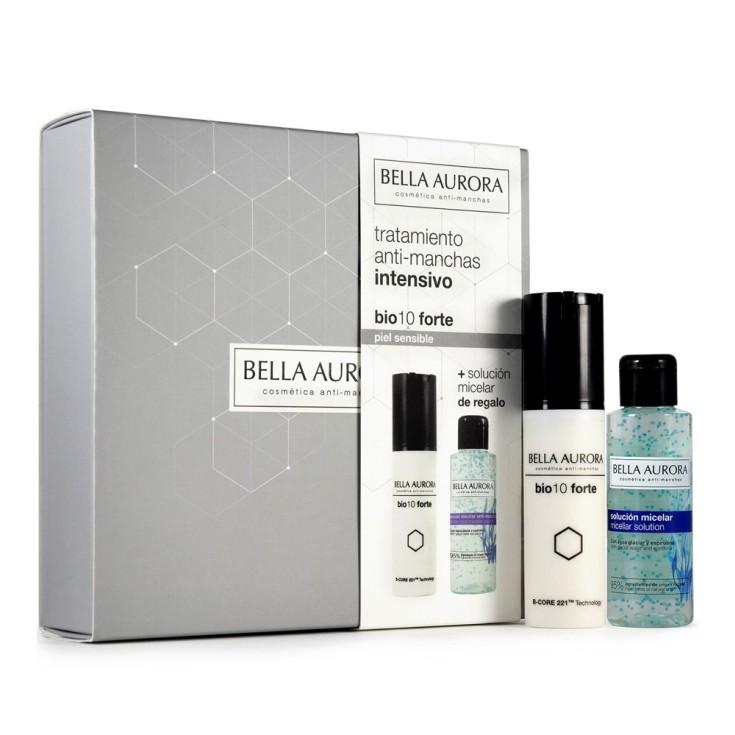 bella aurora bio10 forte tratamiento antimanchas intensivo piel sensible set 2 piezas