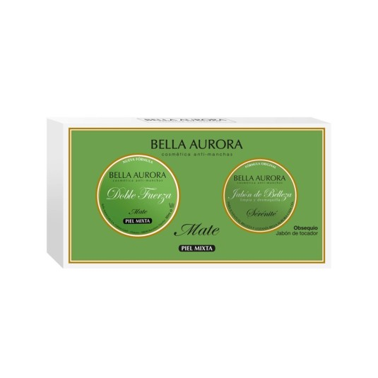 bella aurora crema doble fuerza crema piel mixta 30ml+jabon 100g regalo