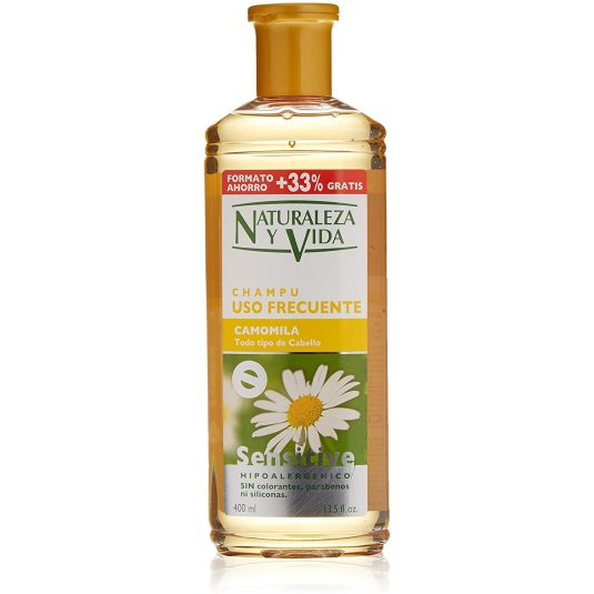 naturaleza y vida sensitive camomila champu 300+100ml