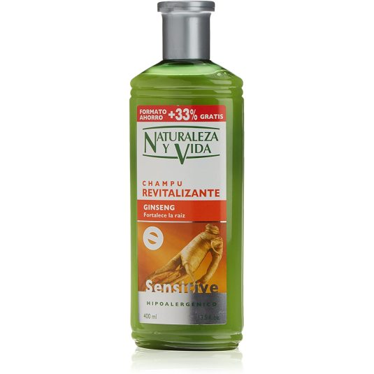 naturaleza y vida champu sensitive revitalizante 300+100ml