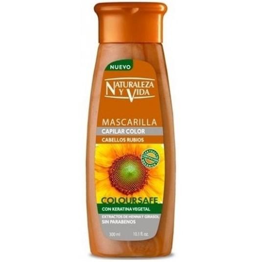 natur vital mascarilla color cabellos rubios