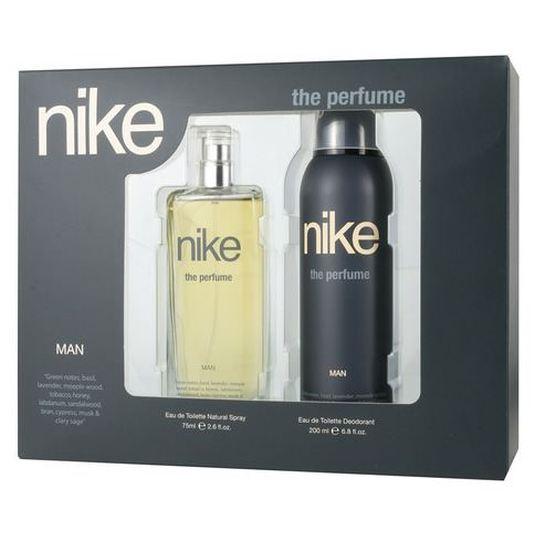 nike the perfume man eau de toilette estuche 2 piezas