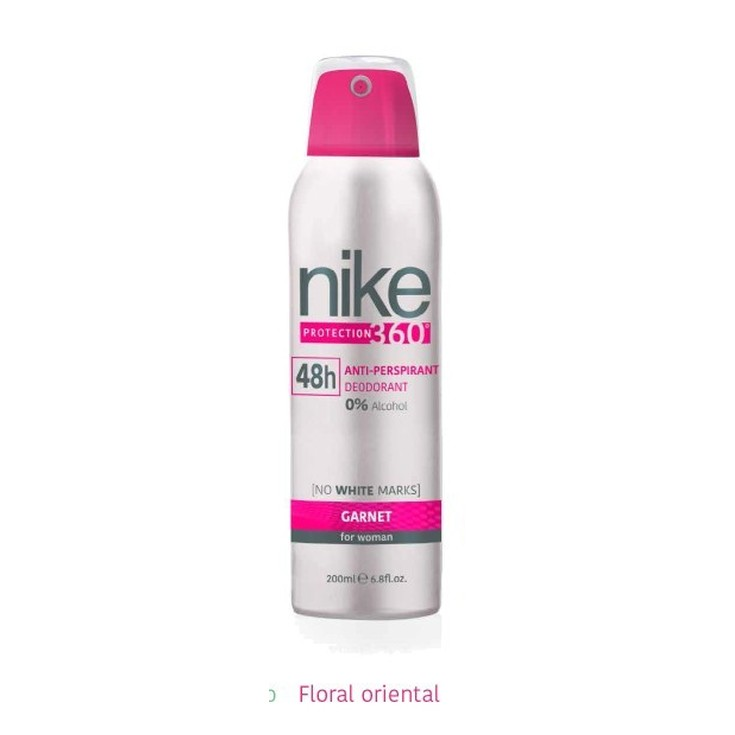 nike garnet woman desodorante spray 48h 200ml