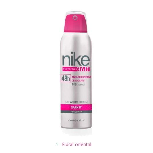 nike garnet woman desodorante spray 48h 200ml