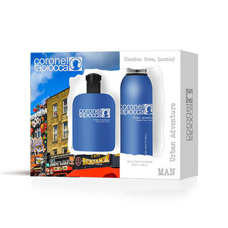 coronel tapiocca london estuche eau de toilette 100ml