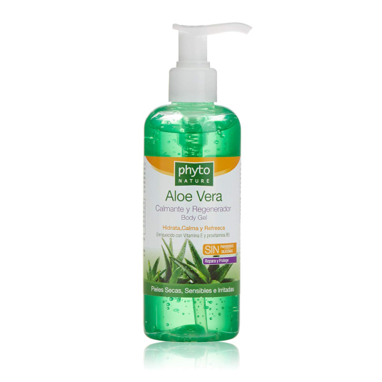 phyto nature aloe vera gel calmante regenerador 300ml
