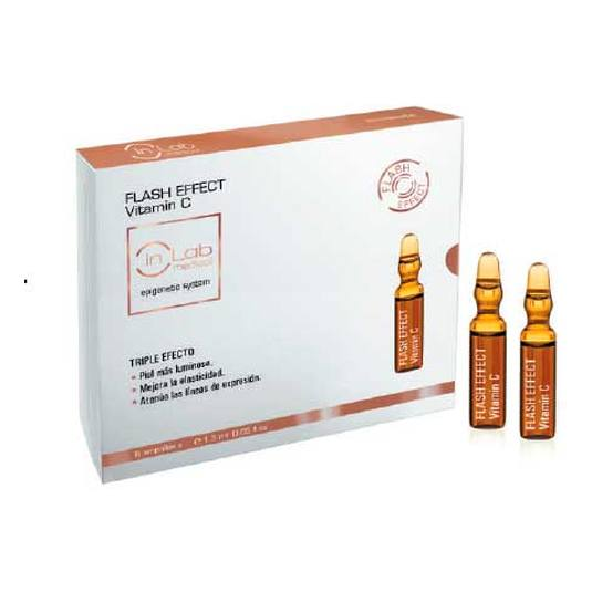 in lab medical flash effect hyaluronic ampollas 6uds