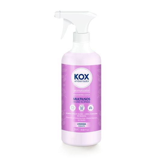 kox ambientador en pistola lavanda 1l