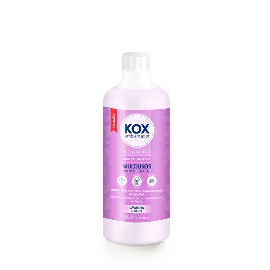 kox ambientador recambio lavanda 1l