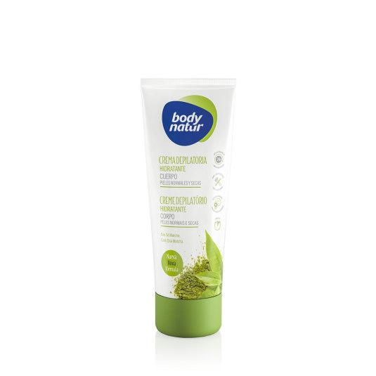 body natur crema depilatoria hidratante cuerpo pieles normales y secas 200ml