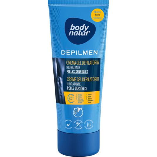 body natur depilmen crema gel depilatoria hidratante pieles sensibles 200ml
