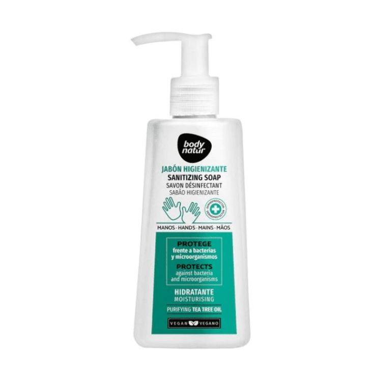 body natur jabon higienizante con dosificador 200ml