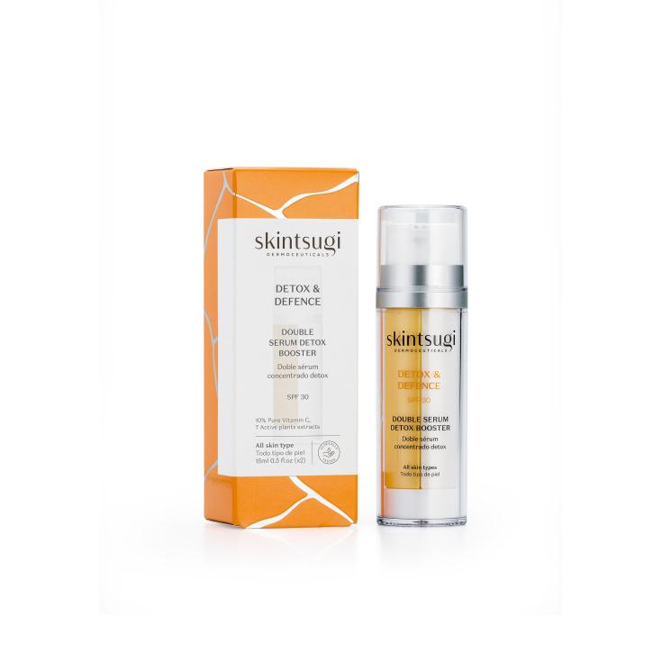 skintsugi detox & defence doble serum spf30 50ml