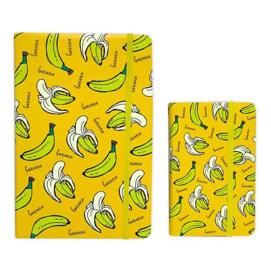 libreta bananas grande y pequeña