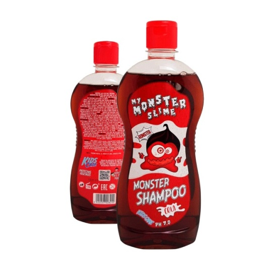 my monster slime ronster champu cola infantil 500ml