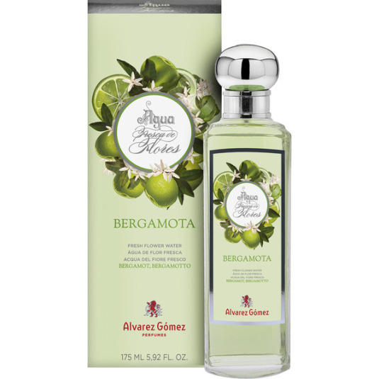 alvarez gómez agua fresca de flores bergamota 175ml
