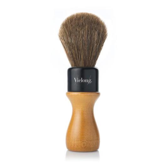 vielong brocha afeitado profesional mod. americana pelo de caballo