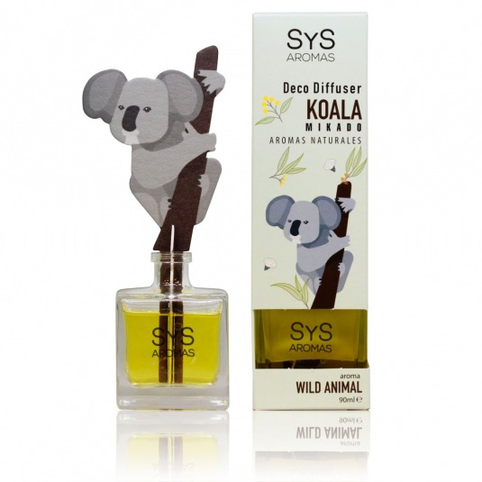 SYS mikado ambientador 3d koala wild animal 90ml