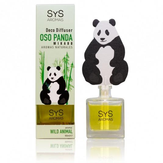 SYS mikado ambientador 3d panda wild animal 90ml