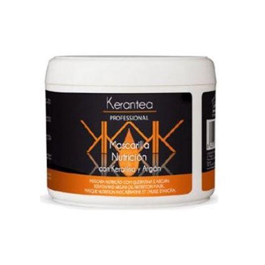 kerantea professional mascarilla capilar nutricion keratina y argan 500ml
