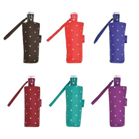 paraguas m&p mujer automatico de bolsillo topos colores surtidos