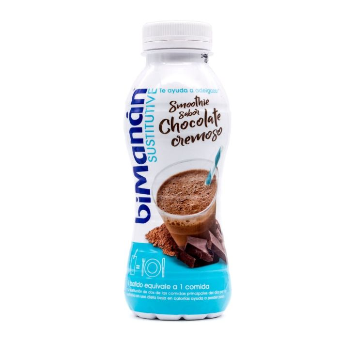 bimanan sustitutive smoothie chocolate cremoso 330ml