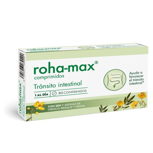 roha-max transito intestinal 30 comprimidos