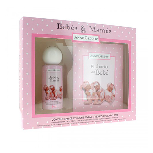 SAPHIR ANNE GEDDES BABY SET COLONIA 100ML+ DIARIO BEBÉ