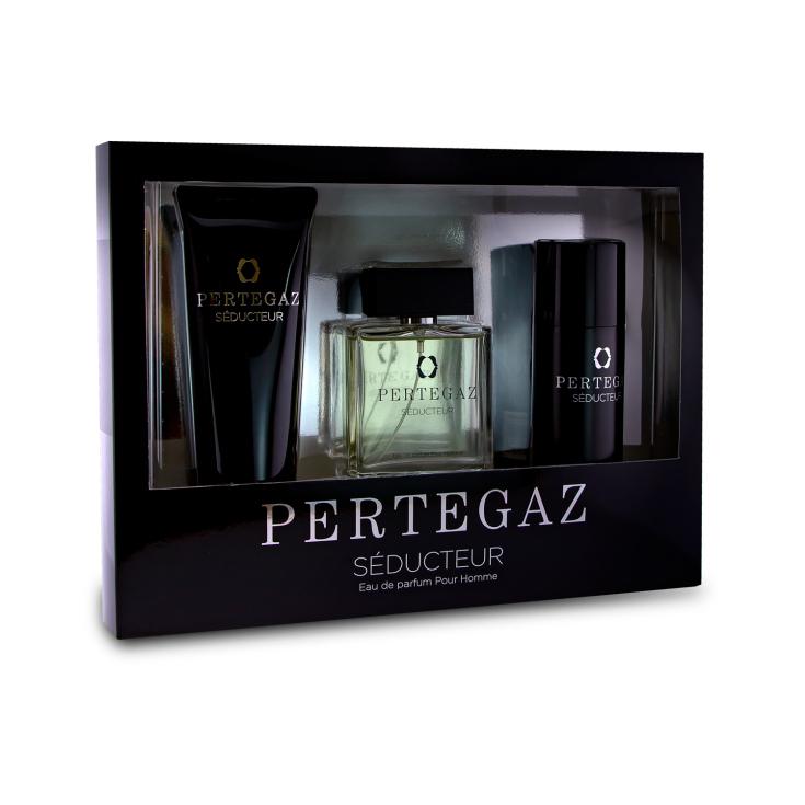 pertegaz seducteur pour homme eau de parfum cofre regalo 3 piezas
