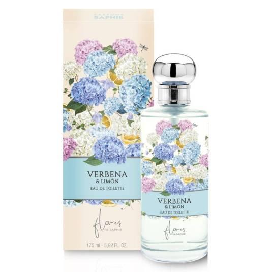 flores de saphir verbena & limon eau de toilette 175ml